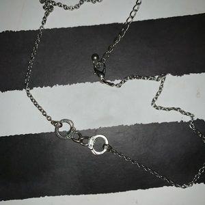 Handcuff necklace